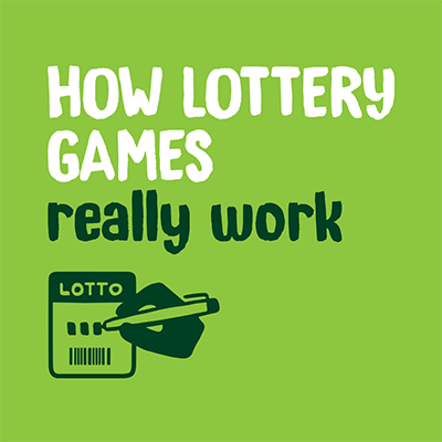 How lottery games really work