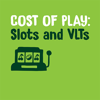 Cost of play slots and vlts